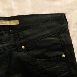 Gently used Zara men slim fit black jeans W32
